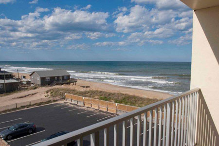 Oceanview Hotel Rooms in Nags Head NC