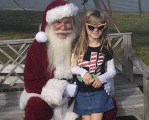 Hangin With Santa in OBX